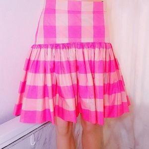 #781 RARE SAMPLE J. Crew Bubble Skirt 2 Pink